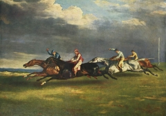 The Derby of Epsom, 1821