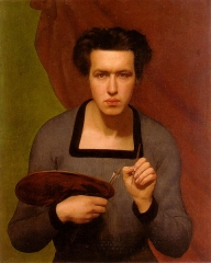 Louis Janmot (self-portrait, 1832)