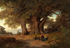 Under eketreet or Under the Oak (1858)