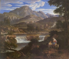 Waterfalls at Subiaco (1812-1813)