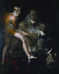 Macbeth consulting the Vision of the Armed Head, 1793