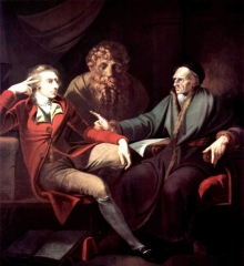 The artist in conversation with Johann Jakob Bodmer, 1778–1781