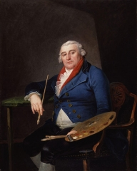 Philippe Jacques de Loutherbourg (Self-portrait)