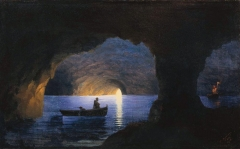 Azure Grotto, Naples (1841)