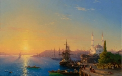 View of Constantinople (1856)