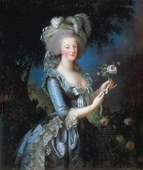 Portrait of Marie Antoinette, 1783