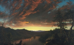 Twilight in the Wilderness, (1860)