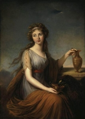 Portrait of Anne Pitt as Hebe