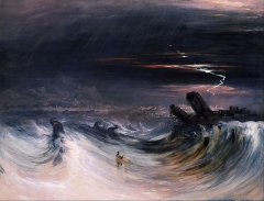 John Martin - Destruction of Tyre