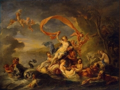 The Triumph of Galatea, 1720