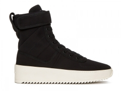 Fear of God Military Sneaker | Black Nylon