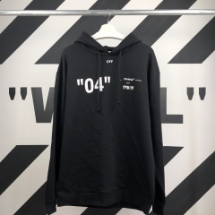 """FOR ALL""LIMITE 04 HOODIE 18SS BLACK"