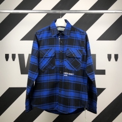 QUOTE SHIRT 18FW BLUE