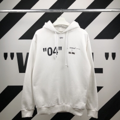 """FOR ALL""LIMITE 04 HOODIE 18SS WHITE"