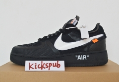 "OFF-WHITE X NIKE AIR FORCE 1 LOW ""BLACK"""