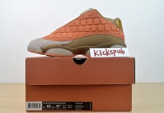 Air Jordan 13 low x Clot AJ13 Terracotta Warriors AT3102-200
