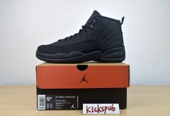 AIR JORDAN 12 RETRO WNTR Black Warrior BQ6851-001