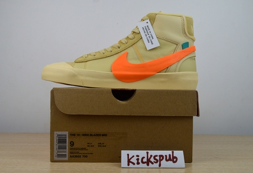 Off-White x Nike Blazer Mid All Hallows Eve AA3832-700