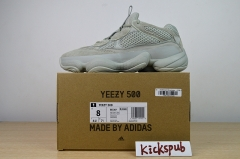 Yeezy 500 Salt Vintage Old Shoes Salt Spray Cold Green EE7287