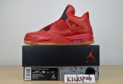 Air Jordan 4 Singles Day AJ4 Red Scratch AV3914-600