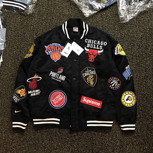 "Sup*reme Nike/NBA Teams warm up Jacket - ""SS 18""-SU3930"