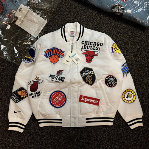 "Sup*reme Nike/NBA Teams Jacket ""SS 18"" - SU3931"