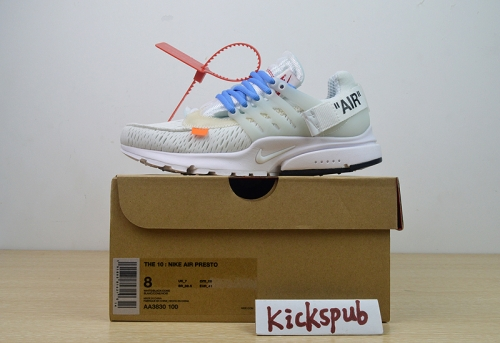 OFF-WHITE x Nike Air Presto OW 2.0 AA3830-002 100