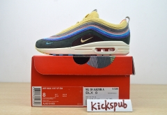 Nike Nike Air Max 1/97 corduroy mixed sneakers running shoes AJ4219-400
