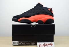CLOT x Air Jordan 13 Low AJ13 black and red AT3102-006
