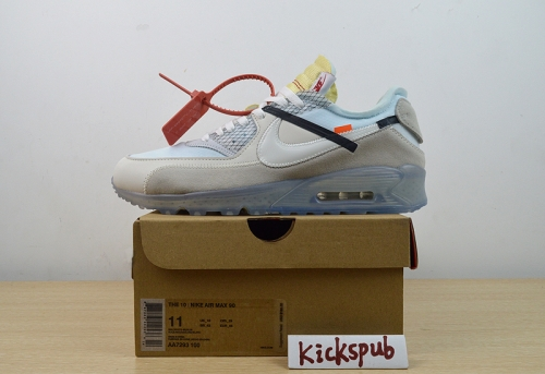 "Air Max 90 ""OFF WHITE"" - AA7293 100"