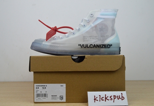 Conver*se x Off White Chuck 70 High-Top Transparent Structure - 162204C