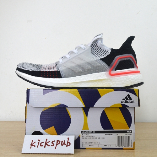 Adi^das UltraBOOST 19 men and women running shoes B37705