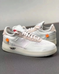 OFF-WHITE X NIKE AIR FORCE 1 LOW OW  AF1 AO4606-100