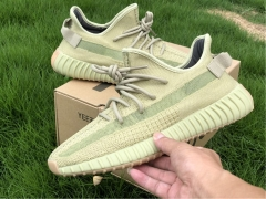 "Yeezy Boost 350 v2 ""Sulfur""抹茶绿 FY5346"