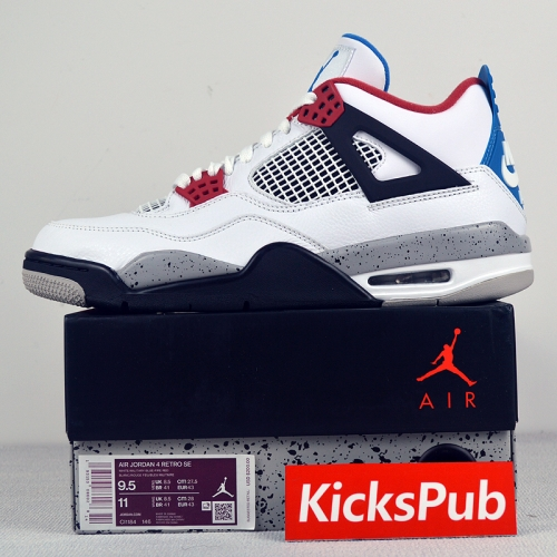 Air Jordan 4 What The AJ4 CI1184-146