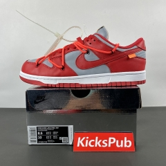 Dunk X OFF-WHITE Low Red  GCT0856-600