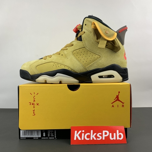 Air Jordan 6 Yellow Travis Scott CN1084-300