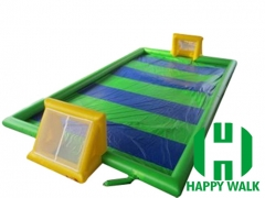 Commercial Outdoor Inflatable Ball Race Game Filed  with Floor for Football and  Sport