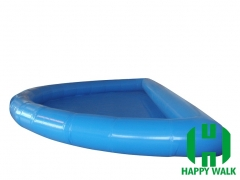 Custom Half Moon Giant Commercial Outdoor Inflatable Pool for Water Walking Ball,Hand Boat,Bumper Boat