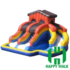 Commercial Outdoor Inflatable Water Pool Slide