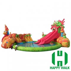 Giant Inflatable Water Slide Park