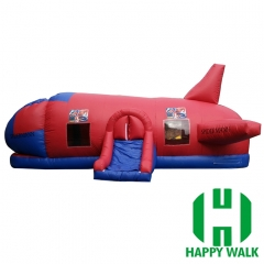 Giant Plane inflatable Tunnel Game