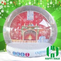 Inflatable Snow Globe