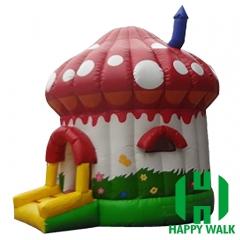 Mushroom Inflatable Castle