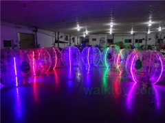 LED Soccer Bubble