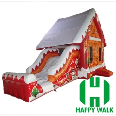 Christmas Inflatable Bouncy Castle