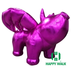 Inflatable Purple Flying Pig