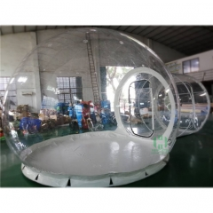 Steel Frame Inflatable Bubble Tent House