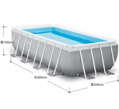 Intex Pool 400*200*100cm Frame Pool for Home Water Play