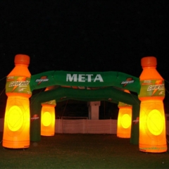 LED Bottle Advertising Inflatable Arch